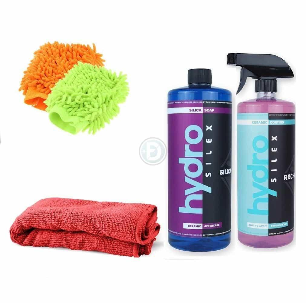 Pack hydrosilex privilege 500 ml: Lavage automobile