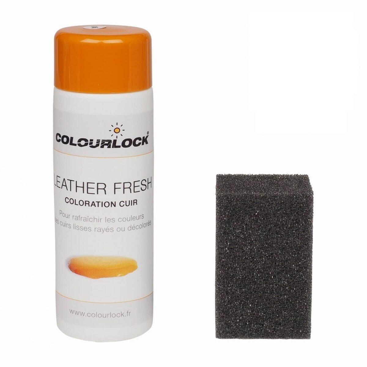 kit coloration noir des cuirs - colourlock
