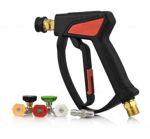 Pistolet court pour nettoyeur haute pression