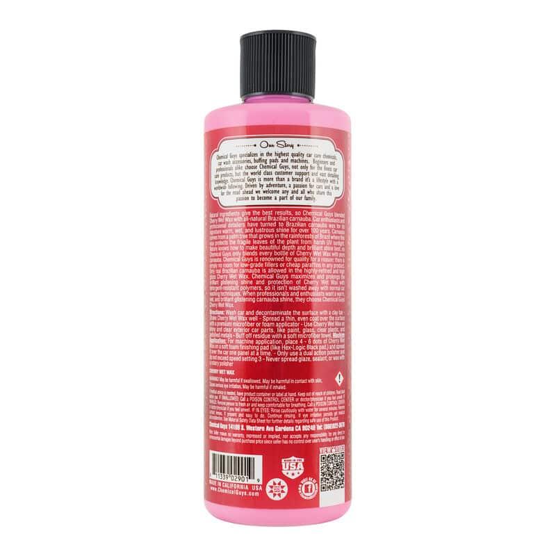 cire de carnauba chemical guys cherry wet wax